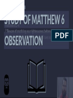 Matt 6 O Thumbnail