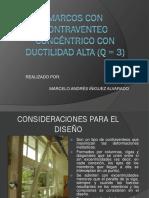 Contraventeo Concéntrico Con Ductilidad Alta Q3 Presentación