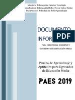 DOCUMENTO INFORMATIVO PAES 2019.pdf