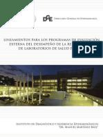 Lineamientos Para Los Programas de Evaluacion Externa de La RNLSP