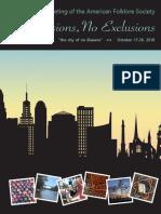 AM18 Program Book, Online
