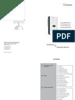 Growatt 8000-10000 Mtlp-us Manual