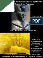 El Misterio de la Resurrección Divina de Osiris