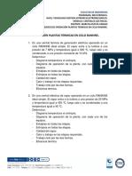 Ejercicios Operacion Central Termica en Ciclo Rankine Ideal Simple 310519