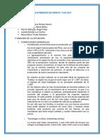 Plan de Marketing (Condiciones General)