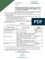Resolución PLAZOS Ampliación-Anulación 2018-2019