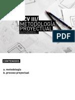 Metodología proyectual
