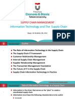 Slide TM-6 Information Technology and the Supply Chain