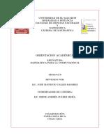 Orientacion academica. MCOPM2