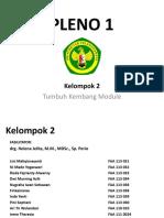 Pleno 1 Modul Tumbang 2015 Kelompok 2