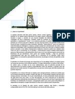 El Petróleo (Quimica)