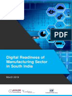 Digital Readiness of Manufacturing Sector in South India