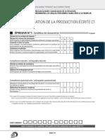 Grille Evaluation Production Ecrite Dalf c1