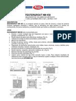 Festergrout NM 450 Ficha Tecnica