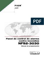 Nfs2-3030 Programacion 52545sp