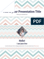 Chloe Free Presentation Template