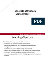 Chapter 1 Basic Concepts of Strategic Management