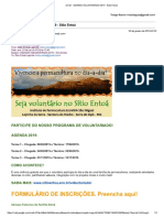 Gmail - Agenda Voluntariado 2019 - Sítio Entoá