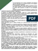 Resumen de Examen - Tecnologia Gerencia de Proyectos Ti
