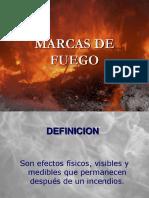Investigacion de Incendios Marcas de Fuego