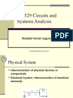 Circuits and system analysis