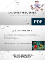 Docentes resilientes.