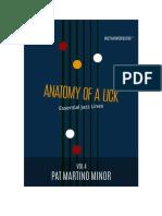 Volume 4 - Pat Martino - Minor