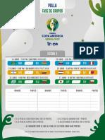Polla Copa America Fecha 1