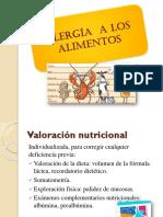 Alergía alimentaria