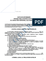Informare GDPR