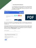 API de Google Maps en Angular