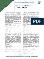 39.simulado emile durkheim.pdf