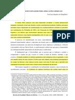 O NOVO CONSTITUCIONALISMO INDO-AFRO-LATINO AMERICANO