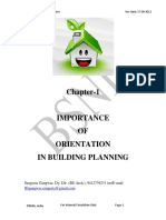 e4-e5 Architecture Chapter-1 Importance of Orientation in Building Planning