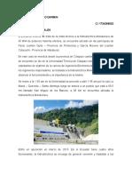 Informe Visita Tecnica Hidroelectrica Manduriacu