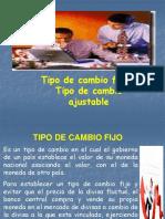 TIPO de Cambio Fijo Ajustable 2