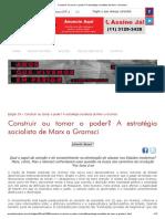 Construir Ou Tomar o Poder_ a Estratégia Socialista de Marx a Gramsci