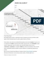 Cómo Diseñar y Calcular Una Escalera