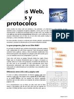 Páginas Web, Enlaces y Protocolos