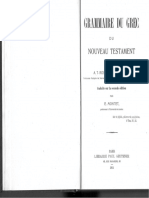 Grammaire du grec du Nouveau Testament