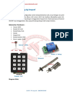 Thermostat Seting Dg Keypad
