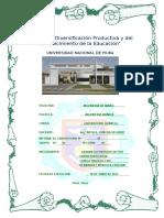 Informe de Laboratorio Química I 6