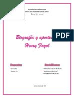 informe (Biografia)