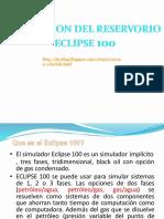 Modelos de Simulación de Reservorios (Eclipse 100)