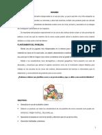 Proyecto de Ciencia Plastilina