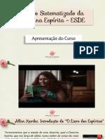 PDF - Apresentação Do ESDE
