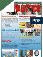 Poster Waspada Leptospirosis
