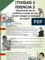 Resolución de Un Conflicto a Partir de Una Mirada Integral Al Sistema de Salud