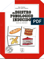 Registro Fonológico Inducido (Manual)