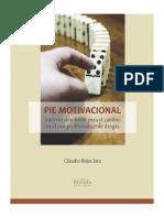 Pie Motivacional - Intervención breve para el cambio en el uso problemático de drogas (2018)